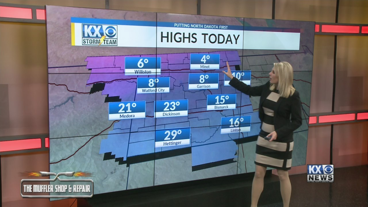 Amber's Wednesday One Minute Forecast 2/13