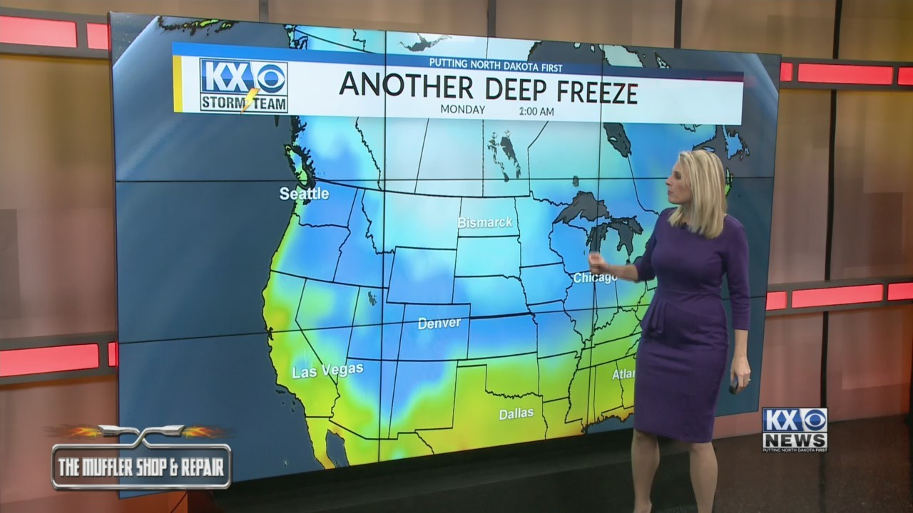 Frigid Temperatures Are Back In The Forecast