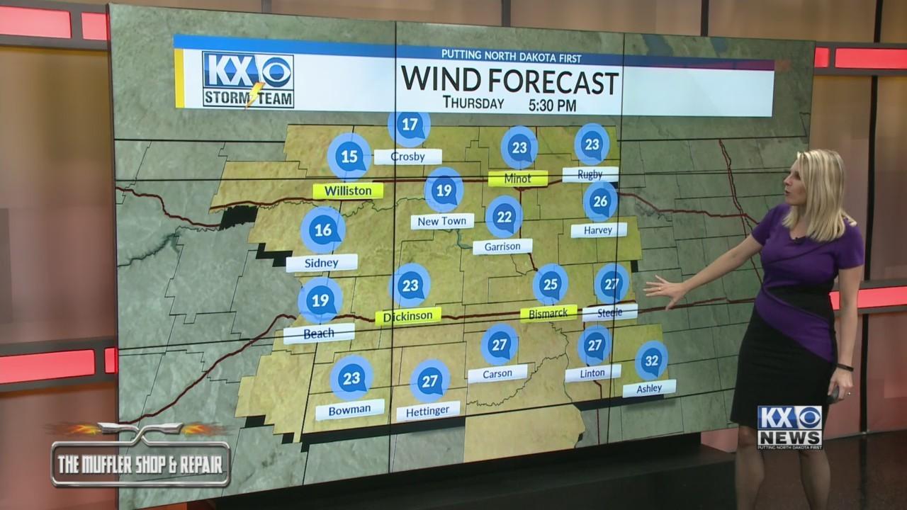 Amber's Thursday Morning One Minute Forecast 3/14