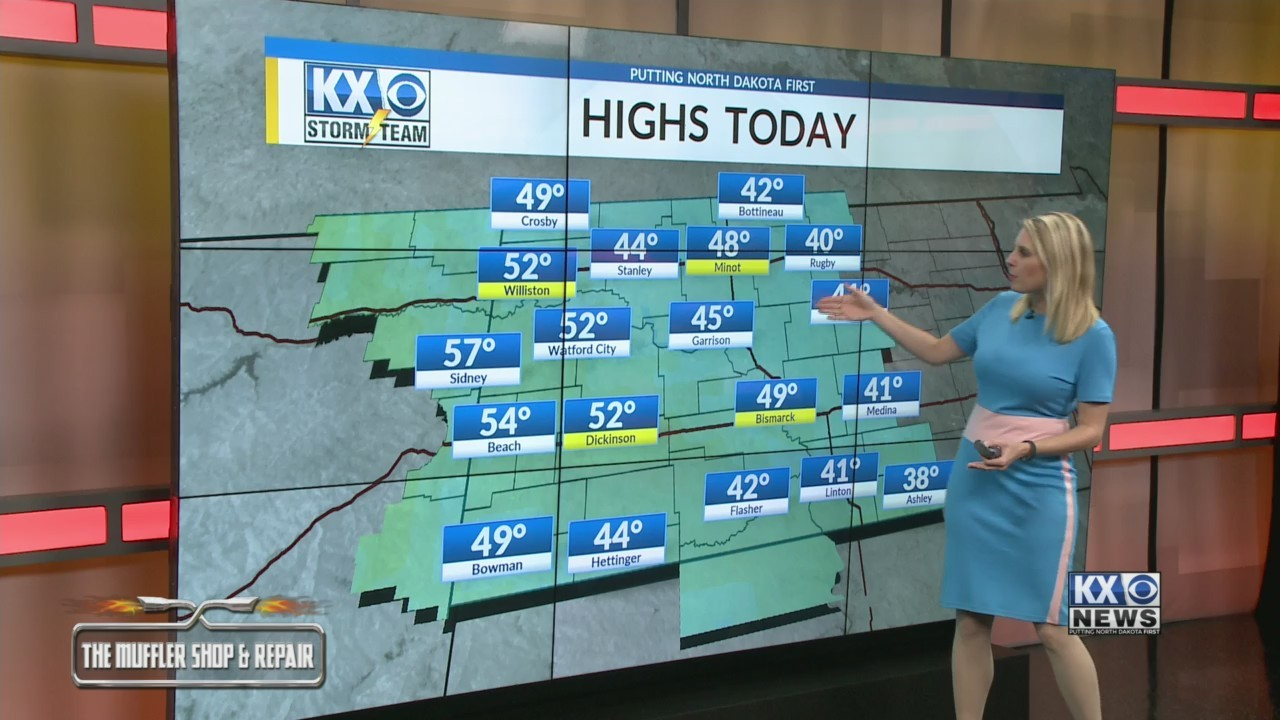Amber's Thursday Morning One Minute Forecast 3/21