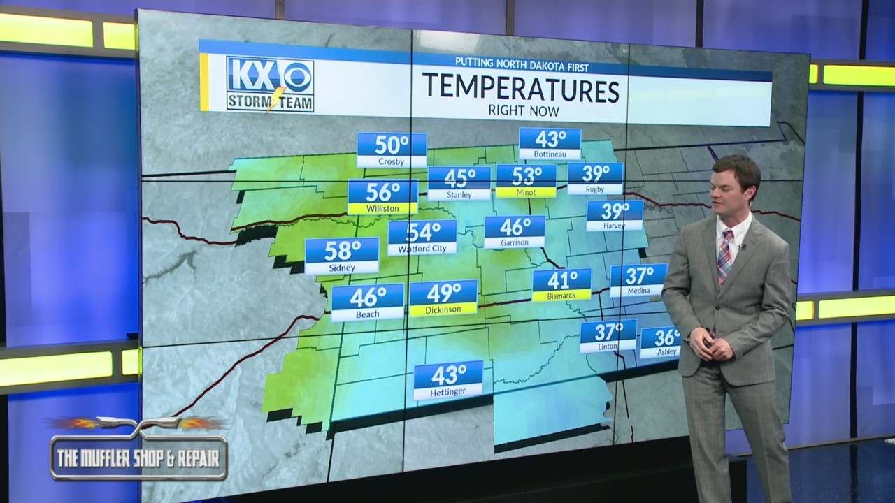 Robert's One Minute Forecast 3-23-19