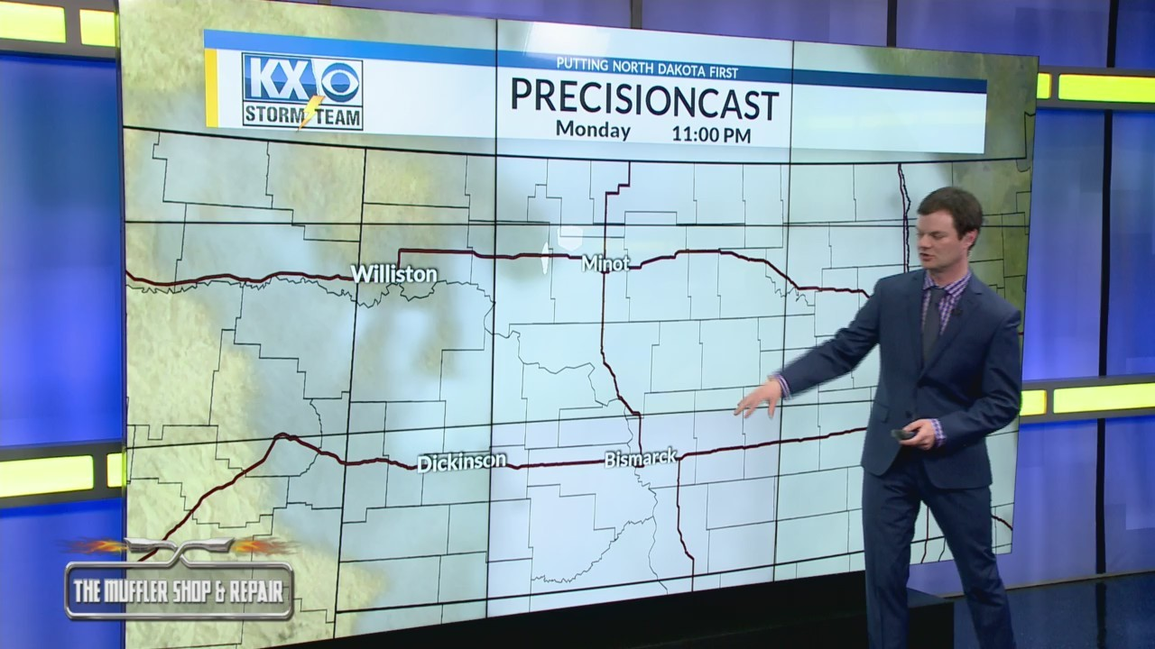 Robert's One Minute Forecast 3-24-19