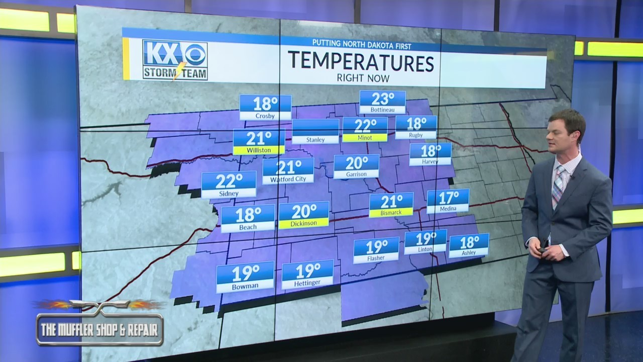 Robert's One Minute Forecast 3-9-18