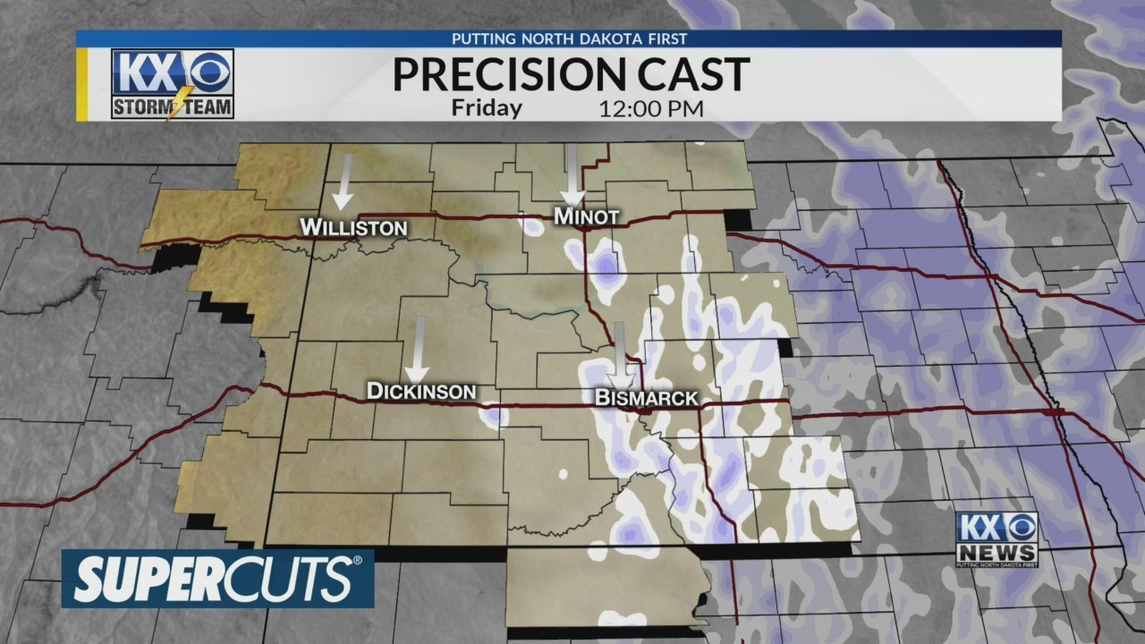 Amber's Friday Morning One Minute Forecast 4/12