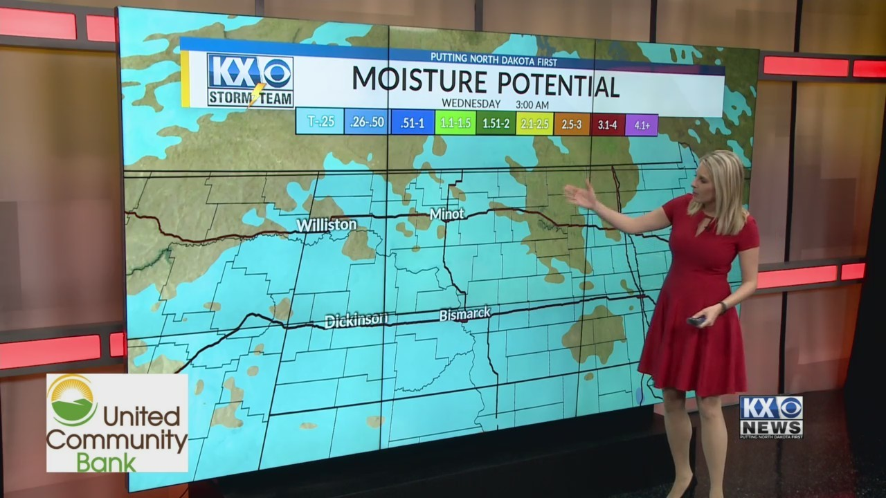 Amber's Tuesday Morning One Minute Forecast