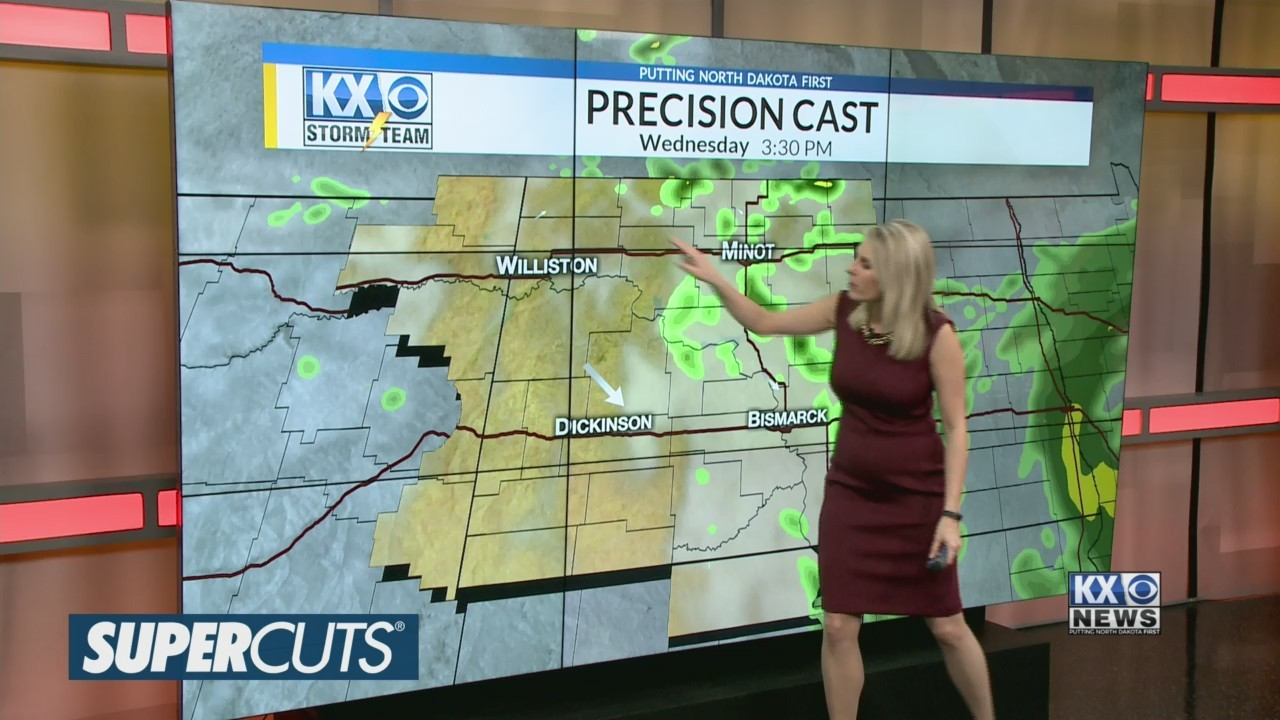 Amber's Wednesday Morning One Minute Forecast 4/17