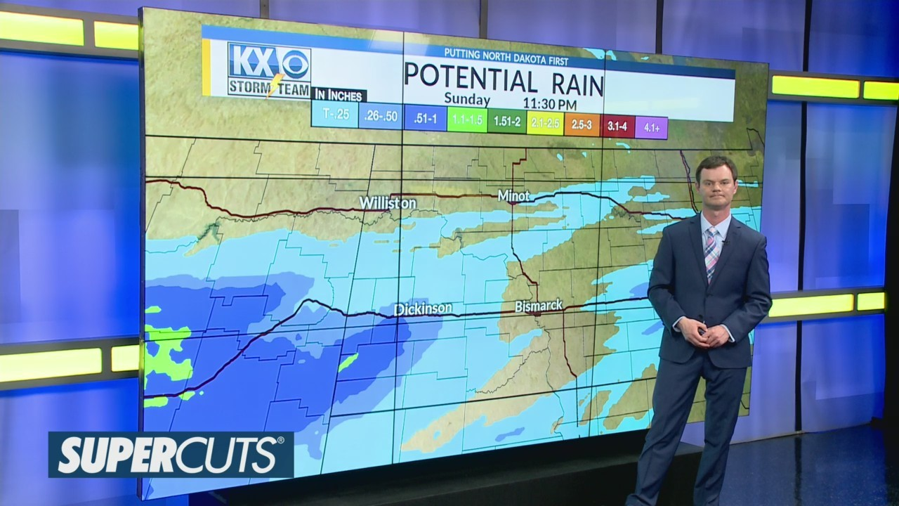 Robert's One Minute Forecast 4-20-19