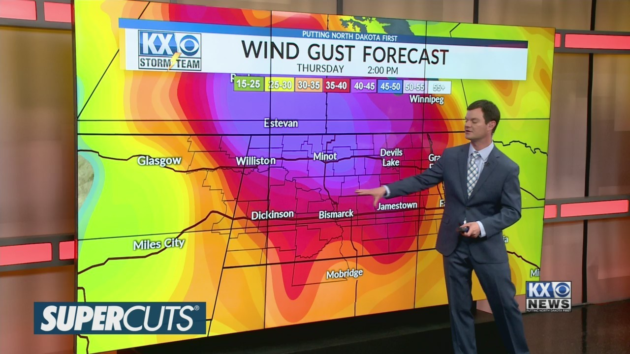 Robert's One Minute Forecast 4-25