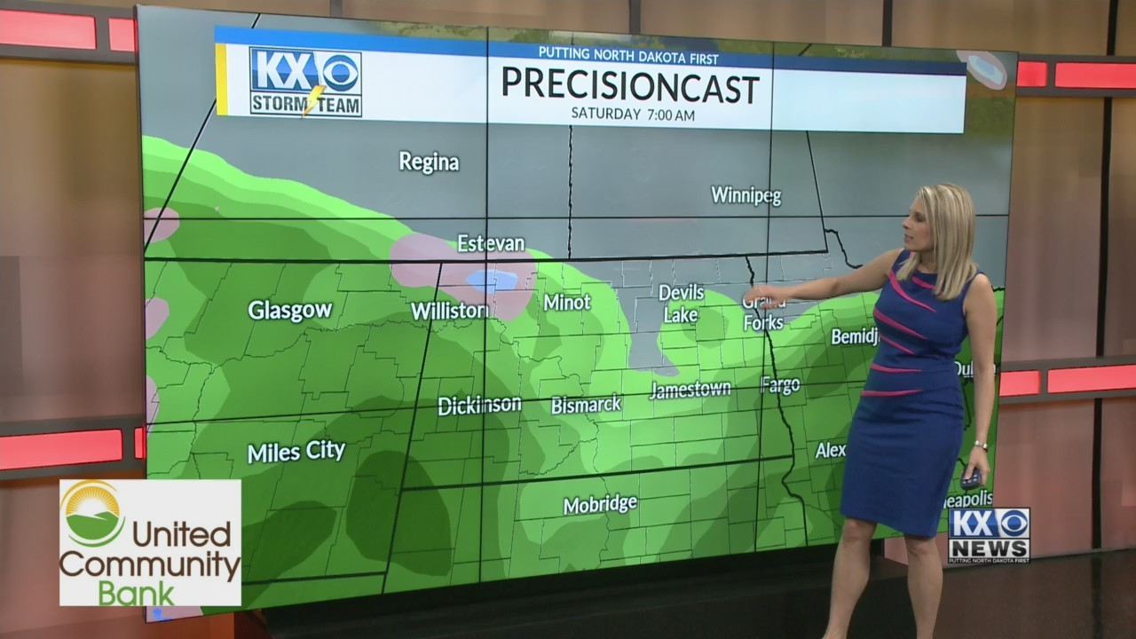 Amber's Friday One Morning Forecast 5/17