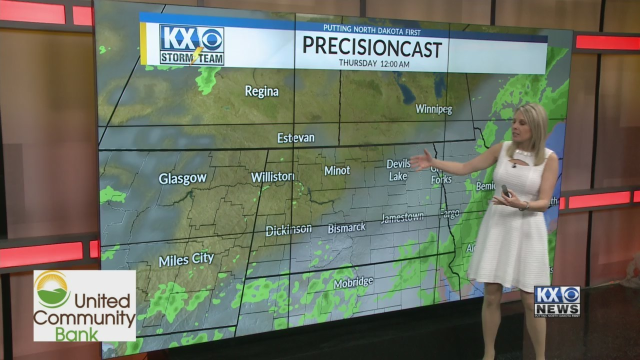 Amber's Wednesday Morning One Minute Forecast 5/8
