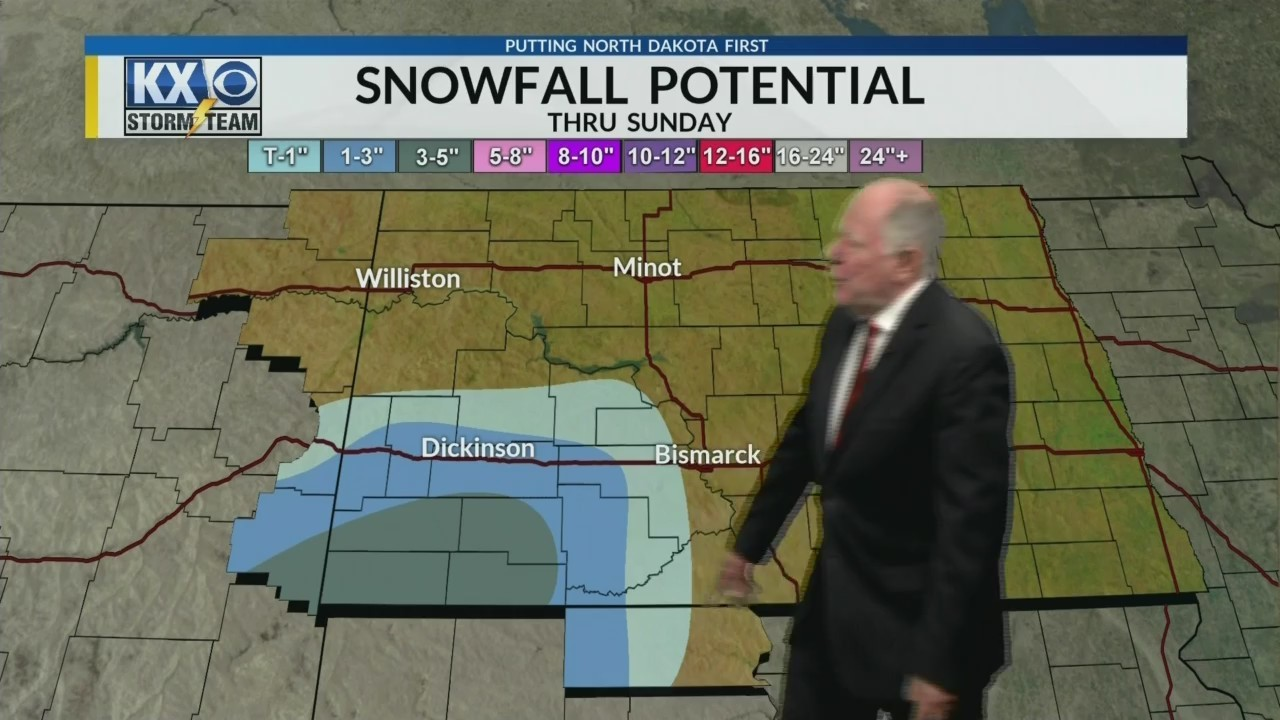 KX Storm Team Full Evening Forecast w/Tom Schrader