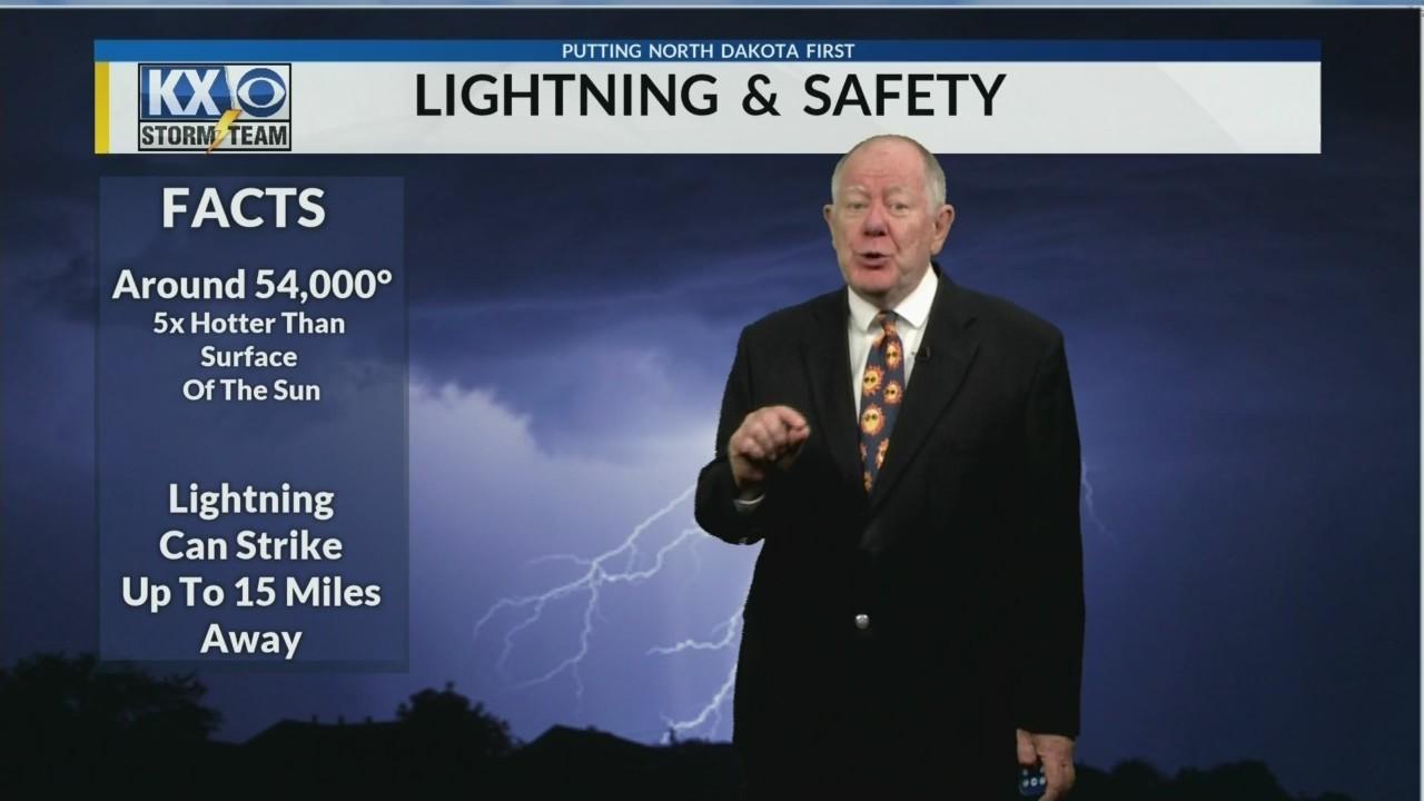 KX Storm Team Lightning Safety Outdoors
