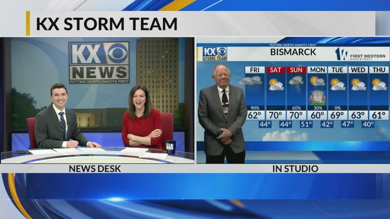 KX Storm Team #FullEveningForecast w/Tom Schrader