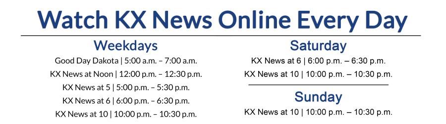 KX News Live Stream | KX NEWS