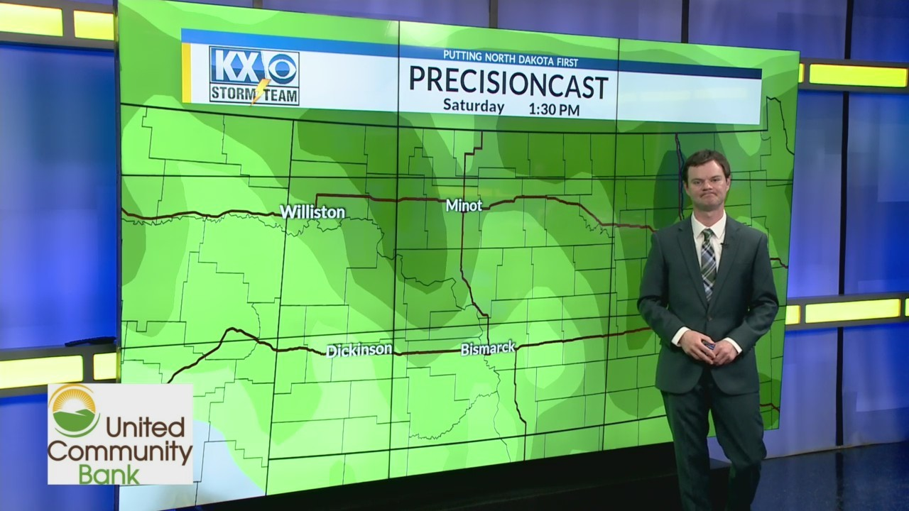 Robert's One Minute Forecast 5-12-19