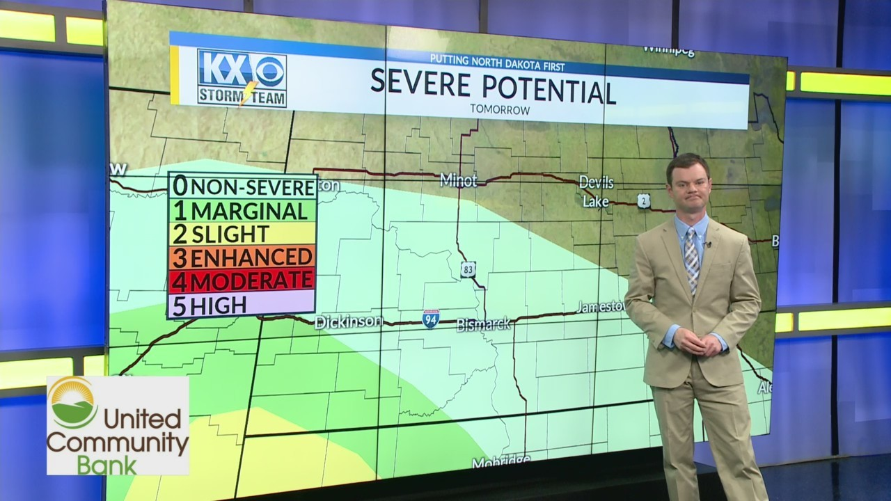 Robert's One Minute Forecast 5-25-19