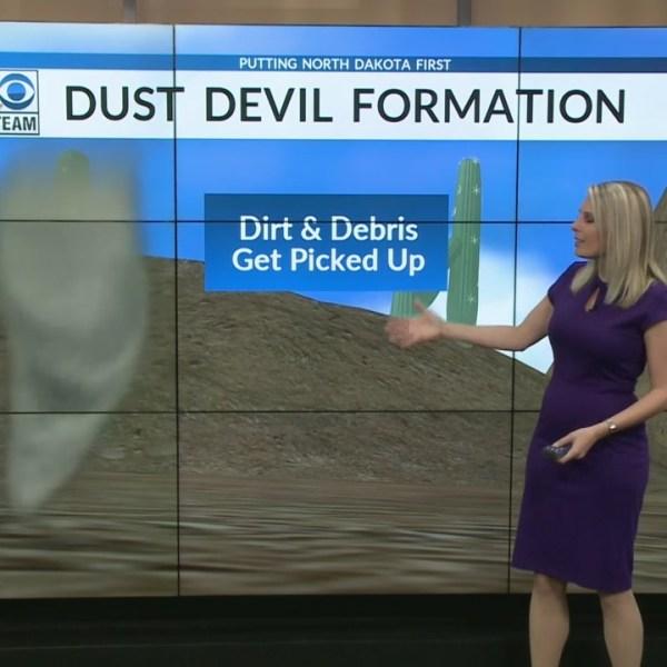 Why So Many Dust Devils In North Dakota Lately?