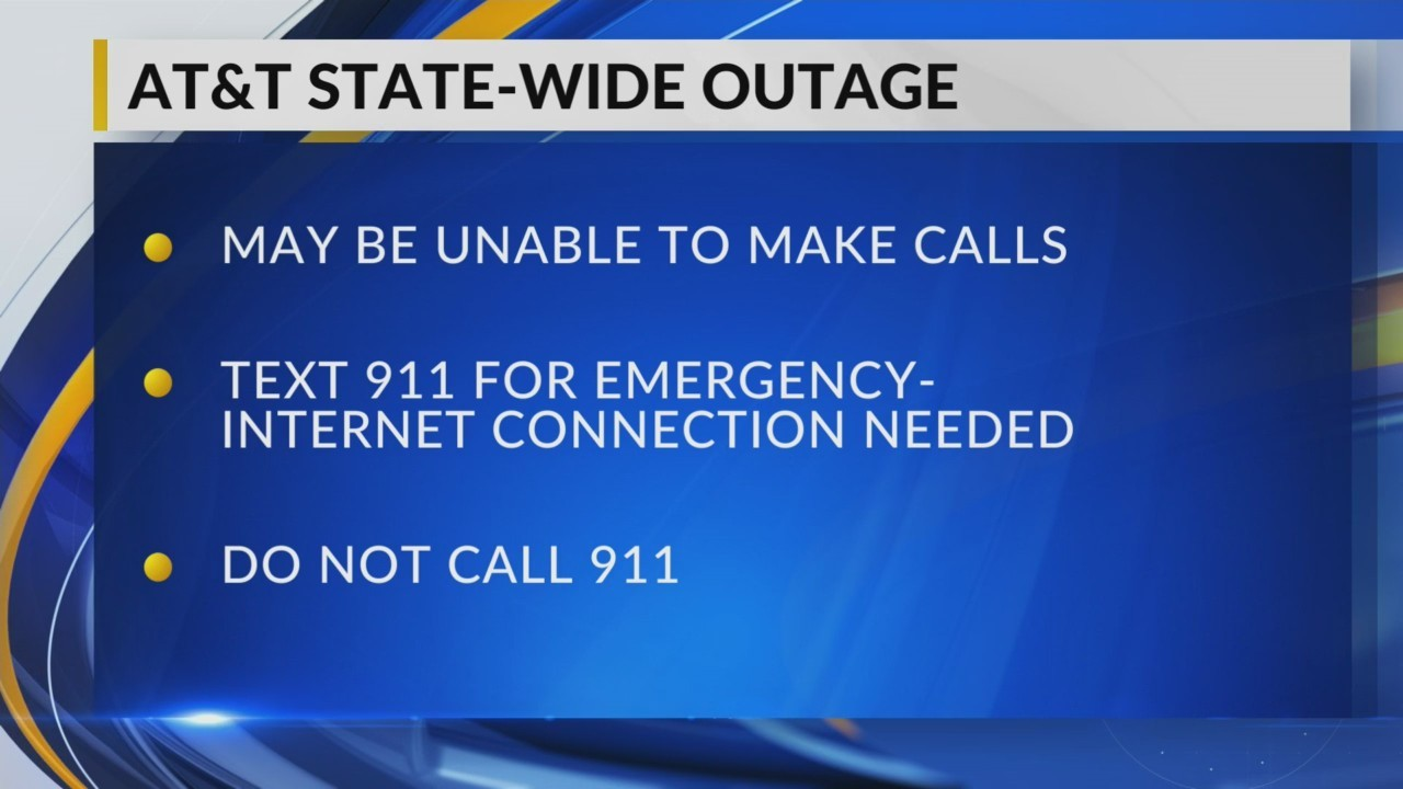 AT&T Statewide Outage