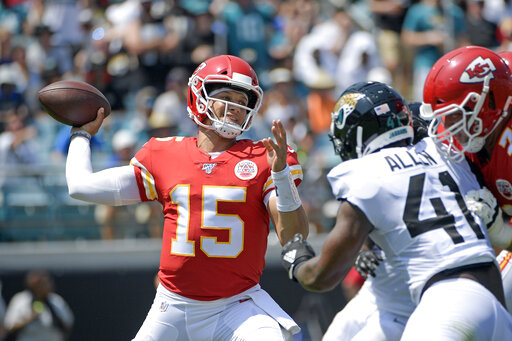 Chiefs lose Hill, handle Jags 40-26
