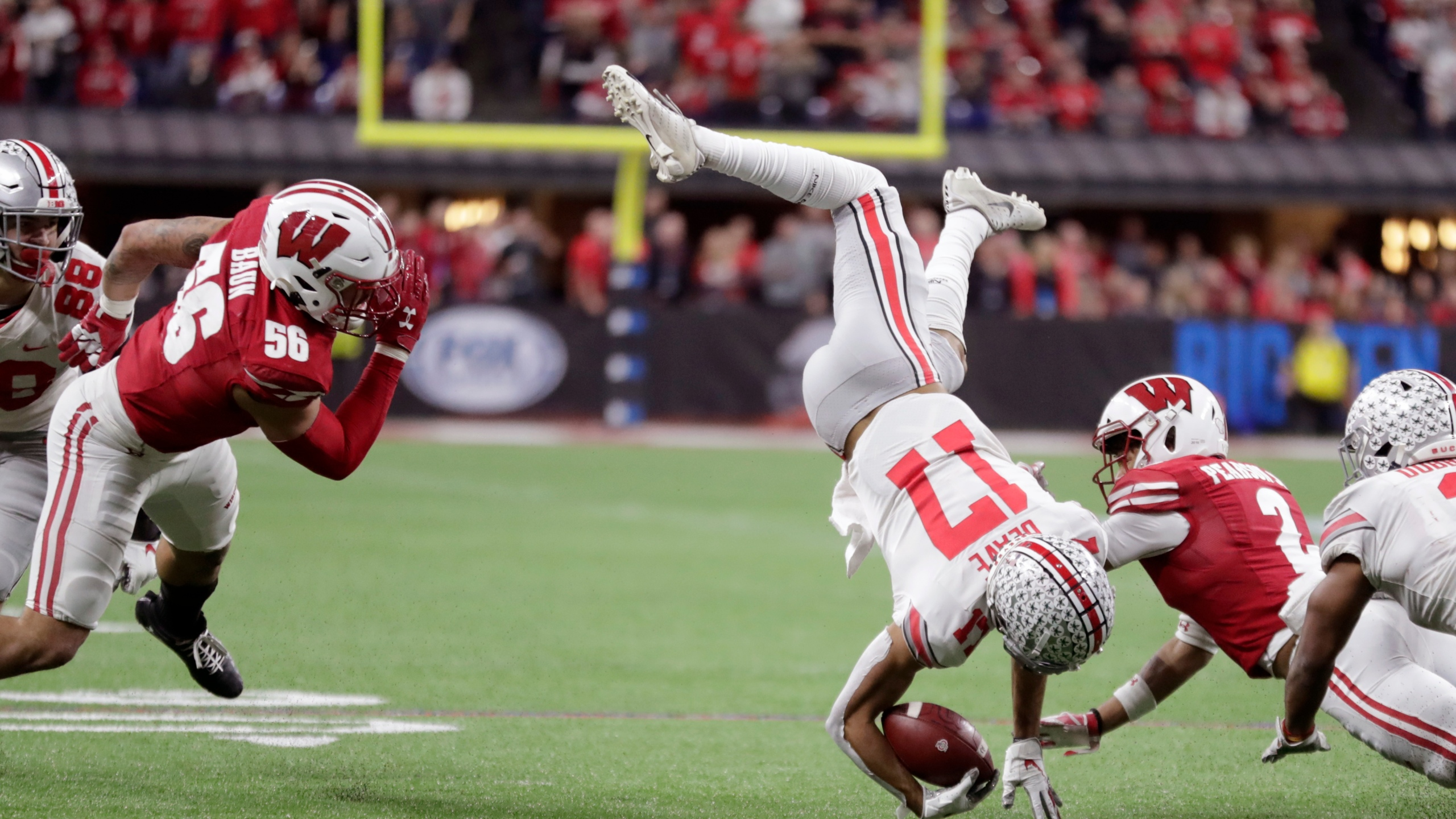 No 2 Ohio State Rallies For 3rd Straight Big Ten Title Kx News