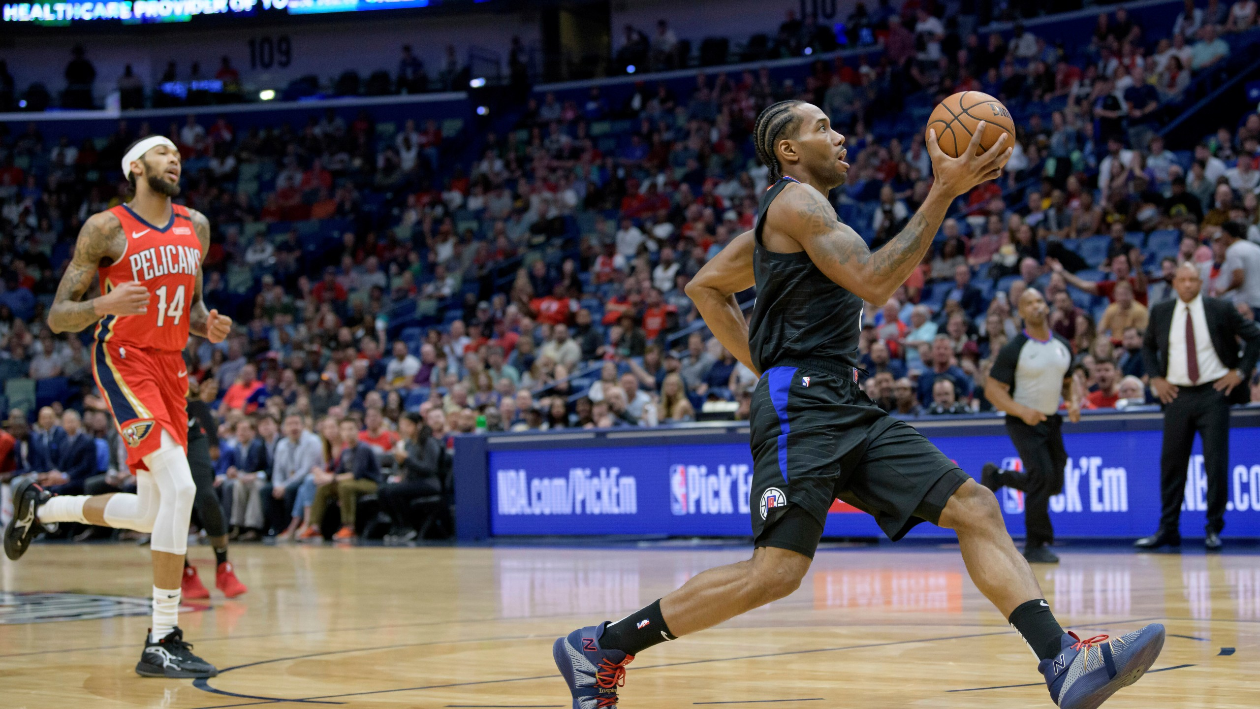 Leonard Clippers Rally To Beat Pelicans 133 130 Kx News