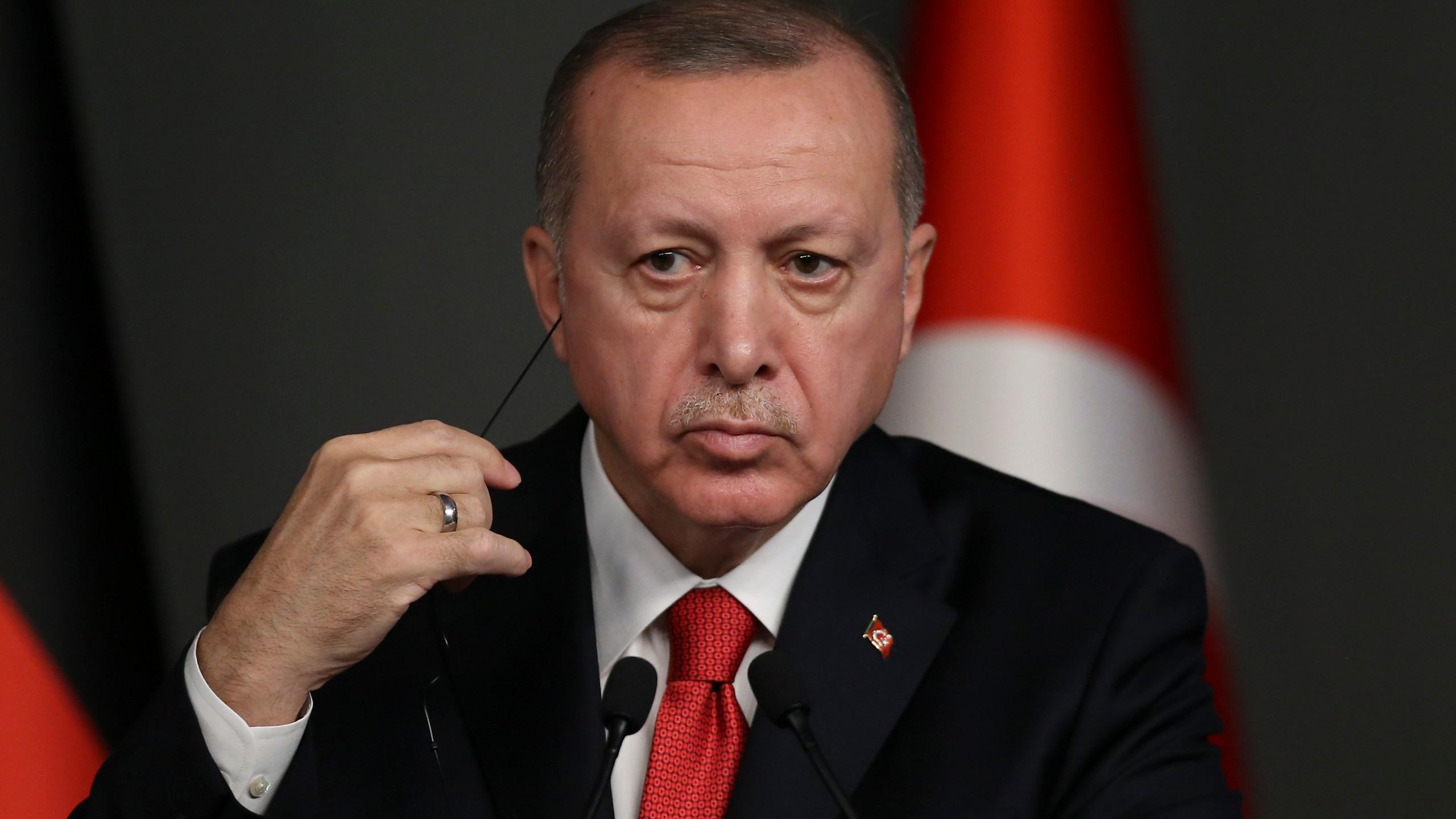 Angela Merkel, Chancellor of Germany visits Turkey