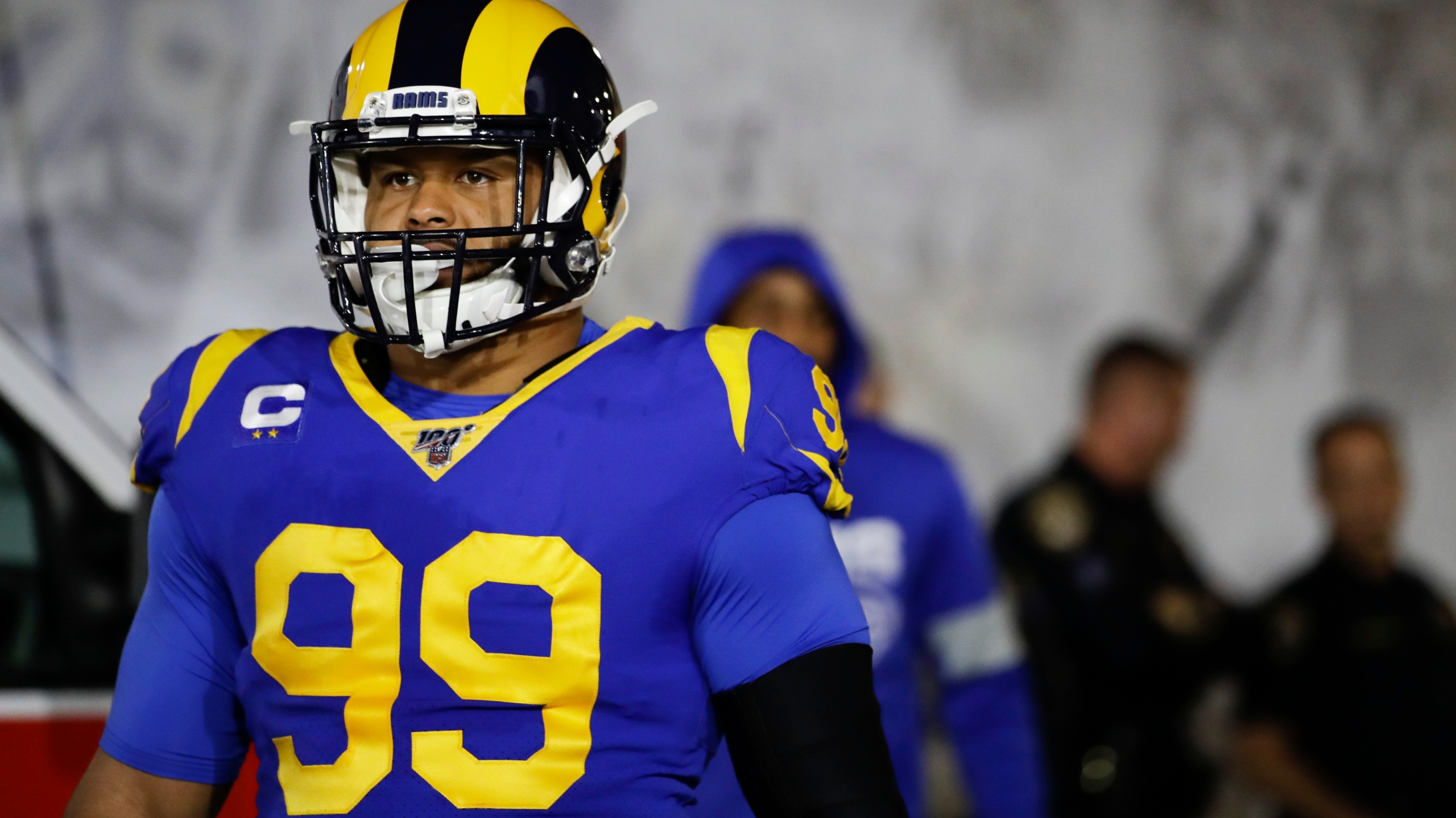 Rams Aaron Donald Football Without Fans Wouldn T Be Fun Kx News