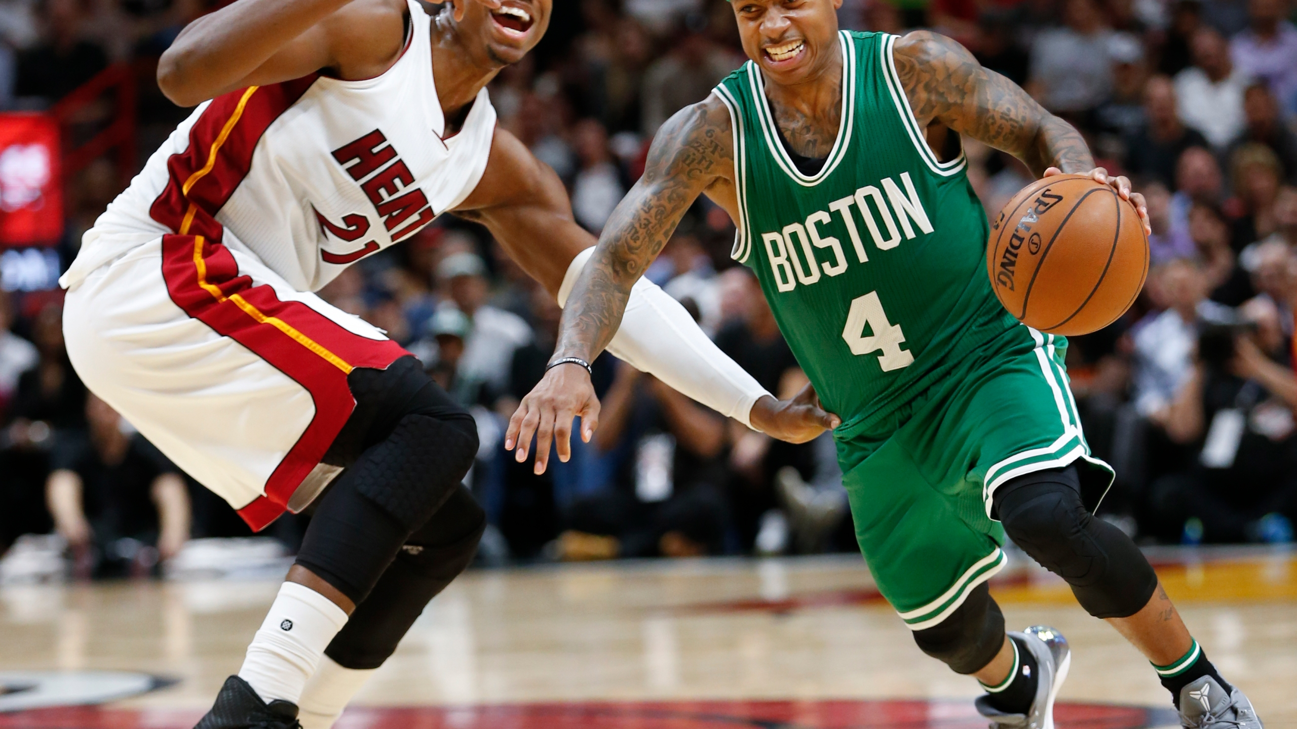 Hassan Whiteside, Isaiah Thomas